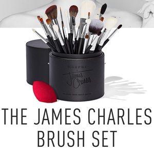 James Charles brush set Morphe